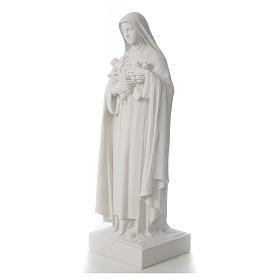 Santa Teresa cm 100 polvere di marmo di Carrara s6
