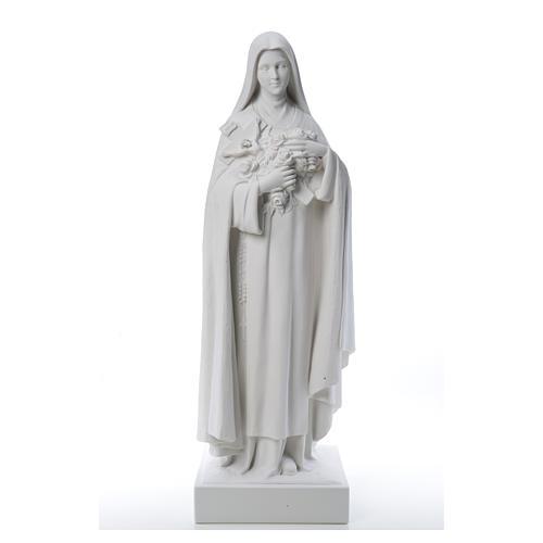 Santa Teresa cm 100 polvere di marmo di Carrara 10