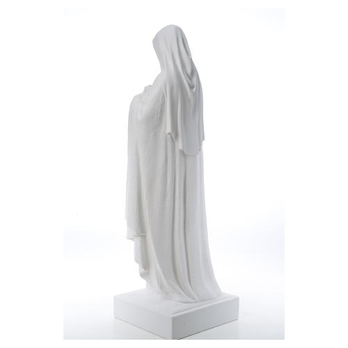 Santa Teresa cm 100 polvere di marmo di Carrara 12