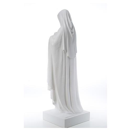 Santa Teresa cm 100 polvere di marmo di Carrara 3
