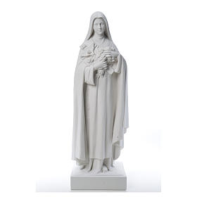 Saint Therese, 100 cm reconstituted marble statue s11