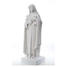 Saint Therese, 100 cm reconstituted marble statue s12