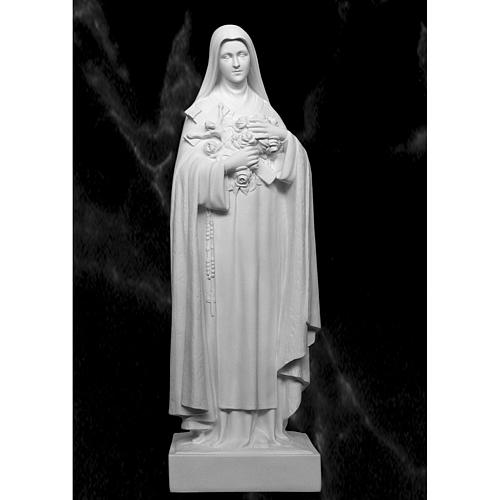 Saint Therese, 100 cm reconstituted marble statue 1