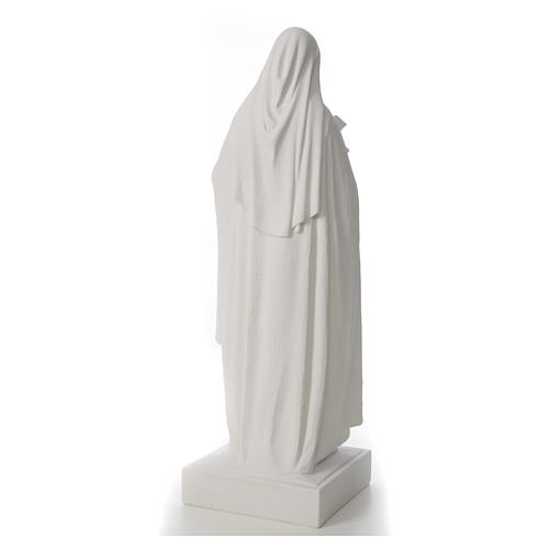Saint Therese, 100 cm reconstituted marble statue 9