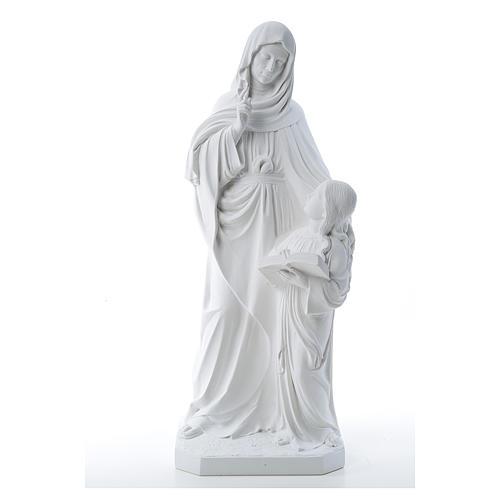 Saint Anna, 80 cm reconstituted marble statue 1