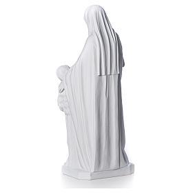 Estatua de Santa Ana 80cm mármol s7