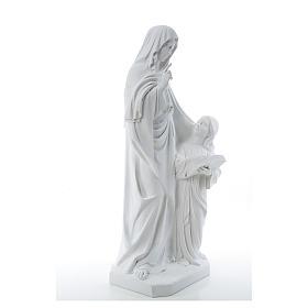 Estatua de Santa Ana 80cm mármol s4