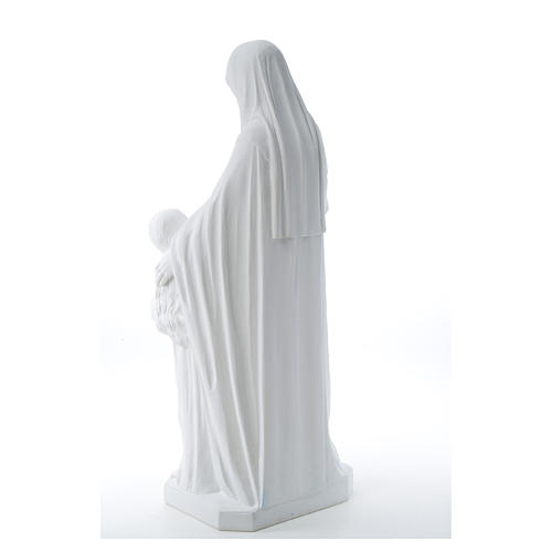 Estatua de Santa Ana 80cm mármol 11