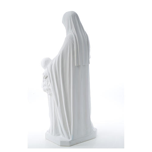 Estatua de Santa Ana 80cm mármol 3