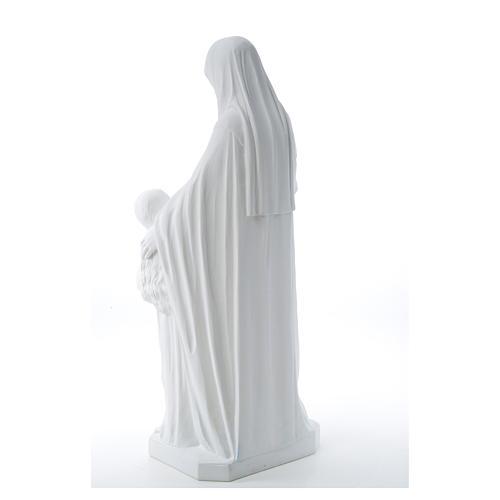 Statue Sainte Anna poudre de marbre 80 cm 11