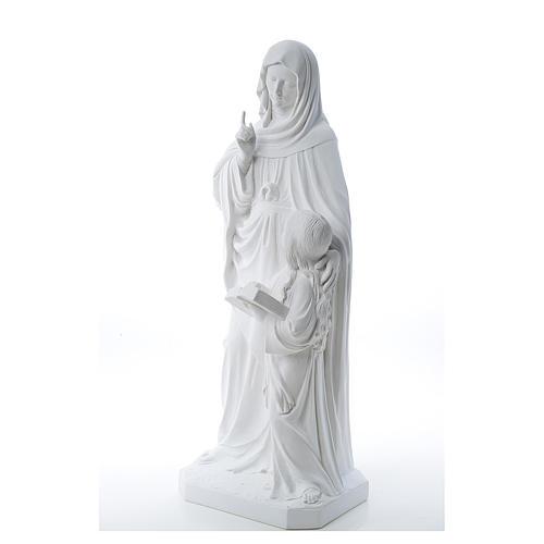 Statue Sainte Anna poudre de marbre 80 cm 2