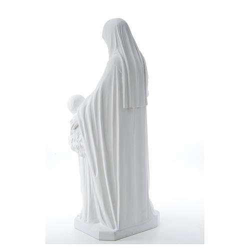 Statue Sainte Anna poudre de marbre 80 cm 3