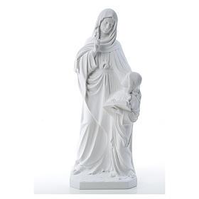 Statua Sant'Anna 80 cm marmo s9