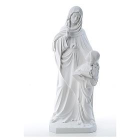 Statua Sant'Anna 80 cm marmo s1