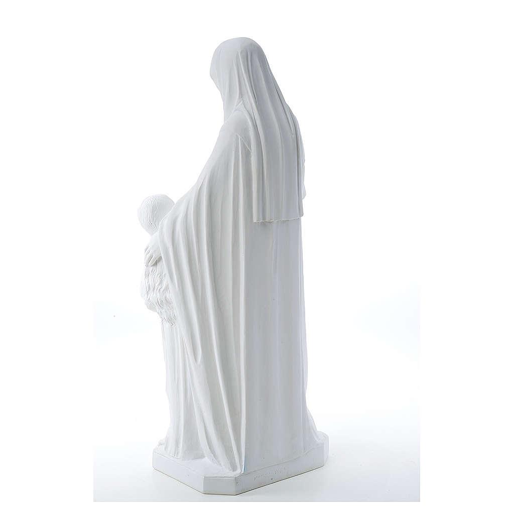 Saint Anna, 80 cm composite marble statue 4