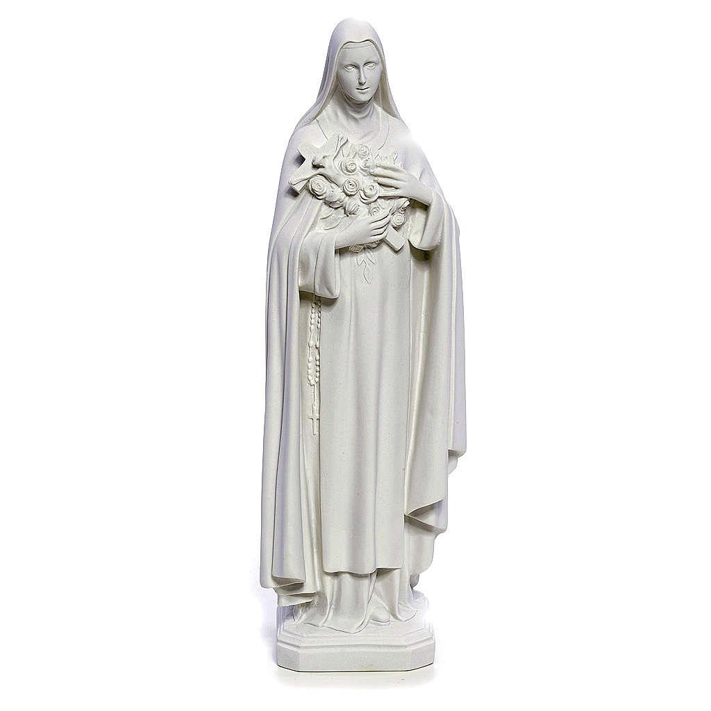 Statua Santa Teresa 40 cm marmo bianco 4