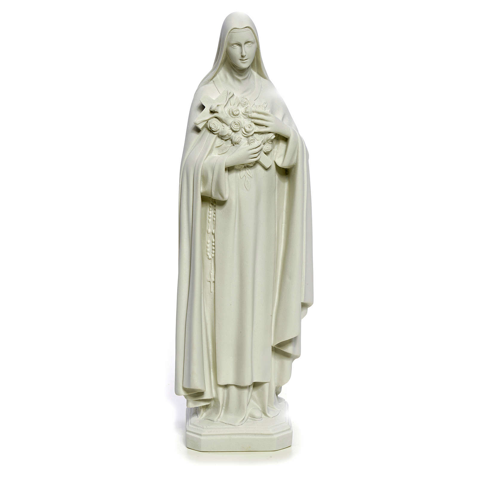 Saint Therese statue made of composite marble, 40 cm 4