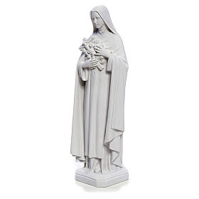 Saint Therese statue made of composite marble, 40 cm s2