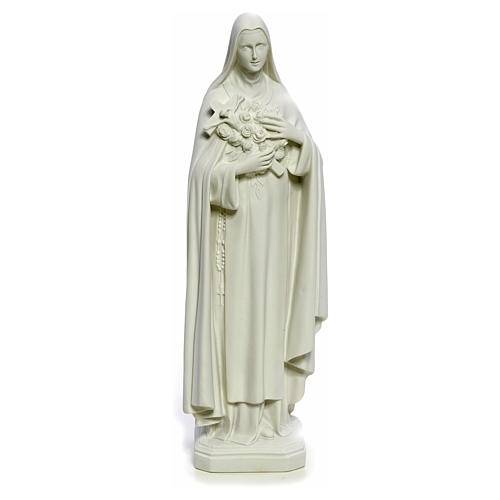 Saint Therese statue made of composite marble, 40 cm 5