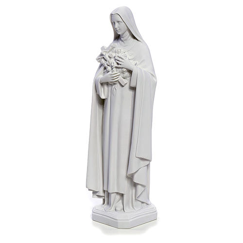 Saint Therese statue made of composite marble, 40 cm 2