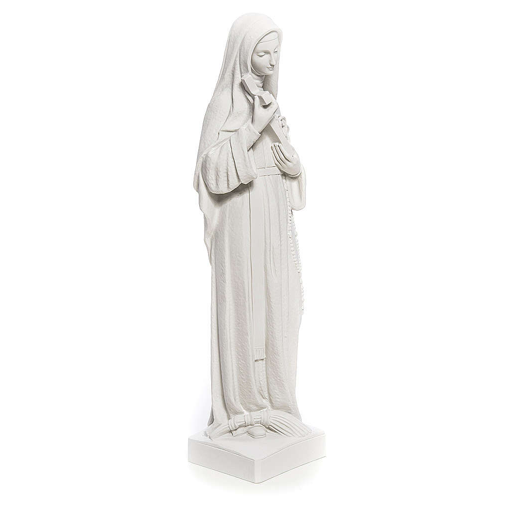 Saint Rita statue made of composite marble 62 cm 4