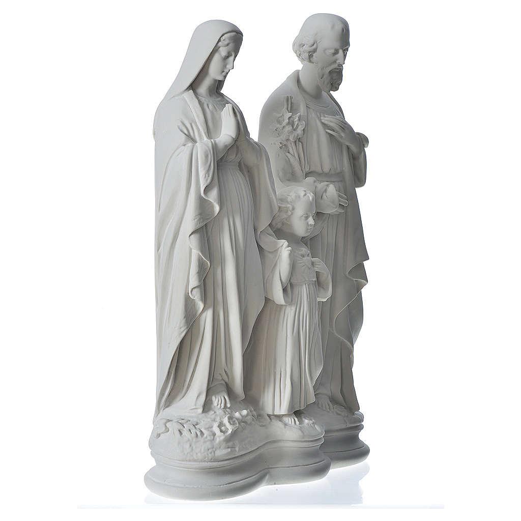 Statue der Heiligen Familie 40 cm,aus  Marmor 4