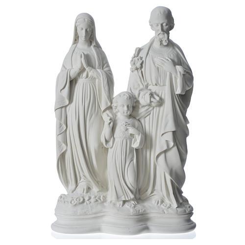 Sagrada Familia 40 cm estatua mármol 5