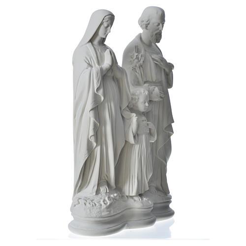 Sacra Famiglia 40 cm statua marmo 7