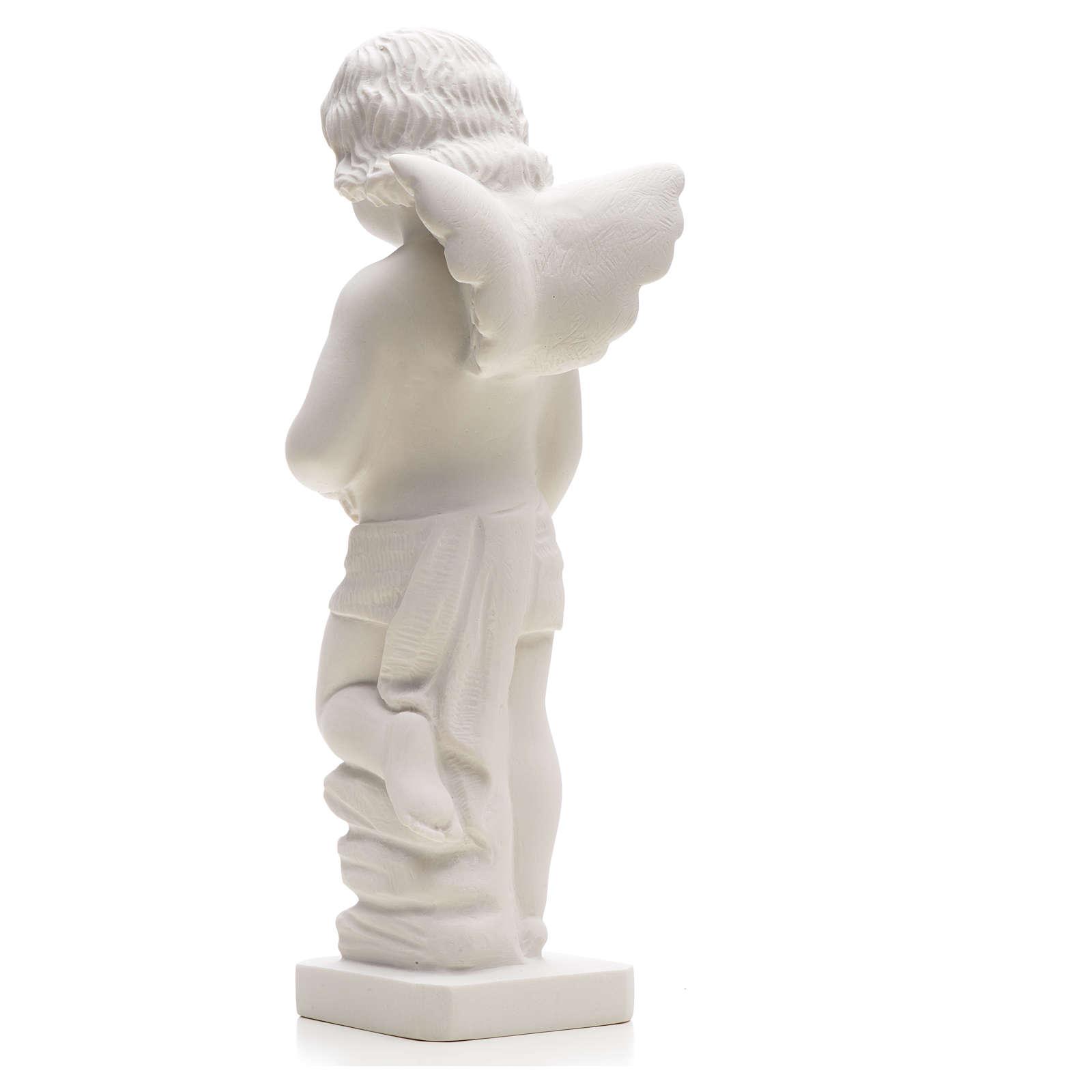 Angioletto gettafiori marmo sintetico 25-30 cm 4