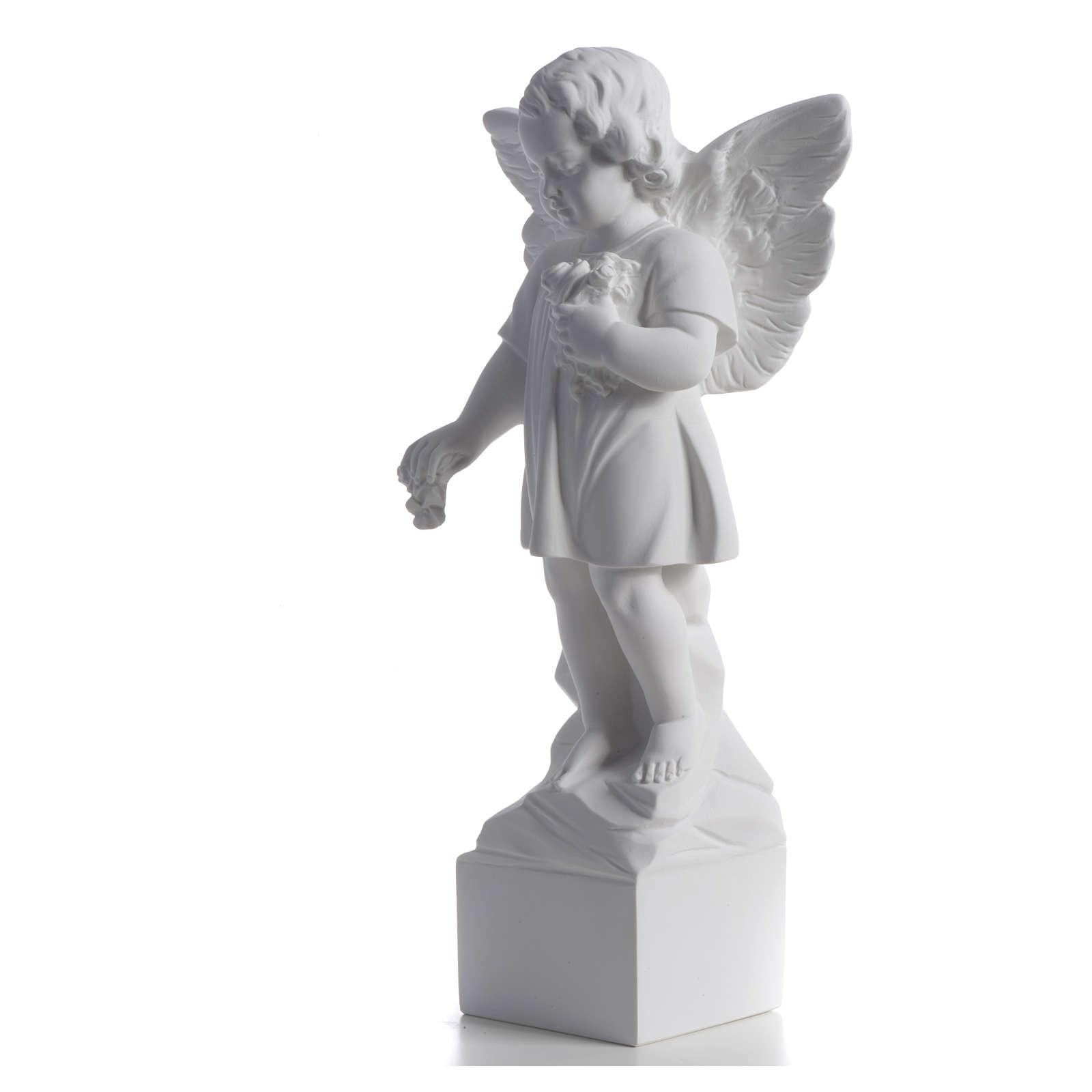 Angelo gettafiori 40 cm polvere di marmo 4