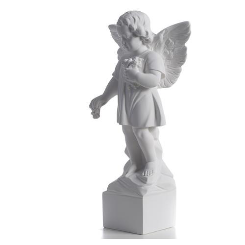 Angelo gettafiori 40 cm polvere di marmo 6