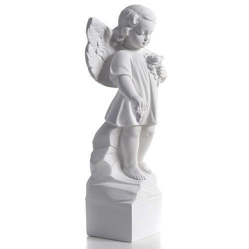 Angelo gettafiori 40 cm polvere di marmo 2