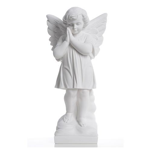 Angioletto mani giunte 40 cm polvere di marmo 5