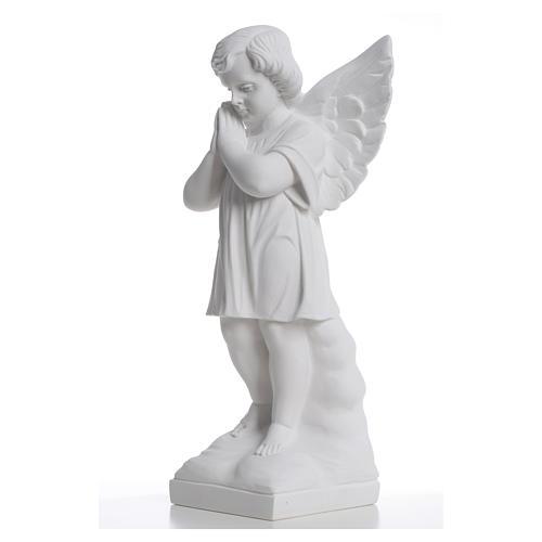 Angioletto mani giunte 40 cm polvere di marmo 6