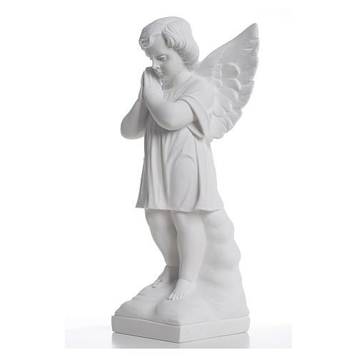Angioletto mani giunte 40 cm polvere di marmo 2
