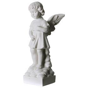 Anjinho que lança flores pó de mármore 30 cm