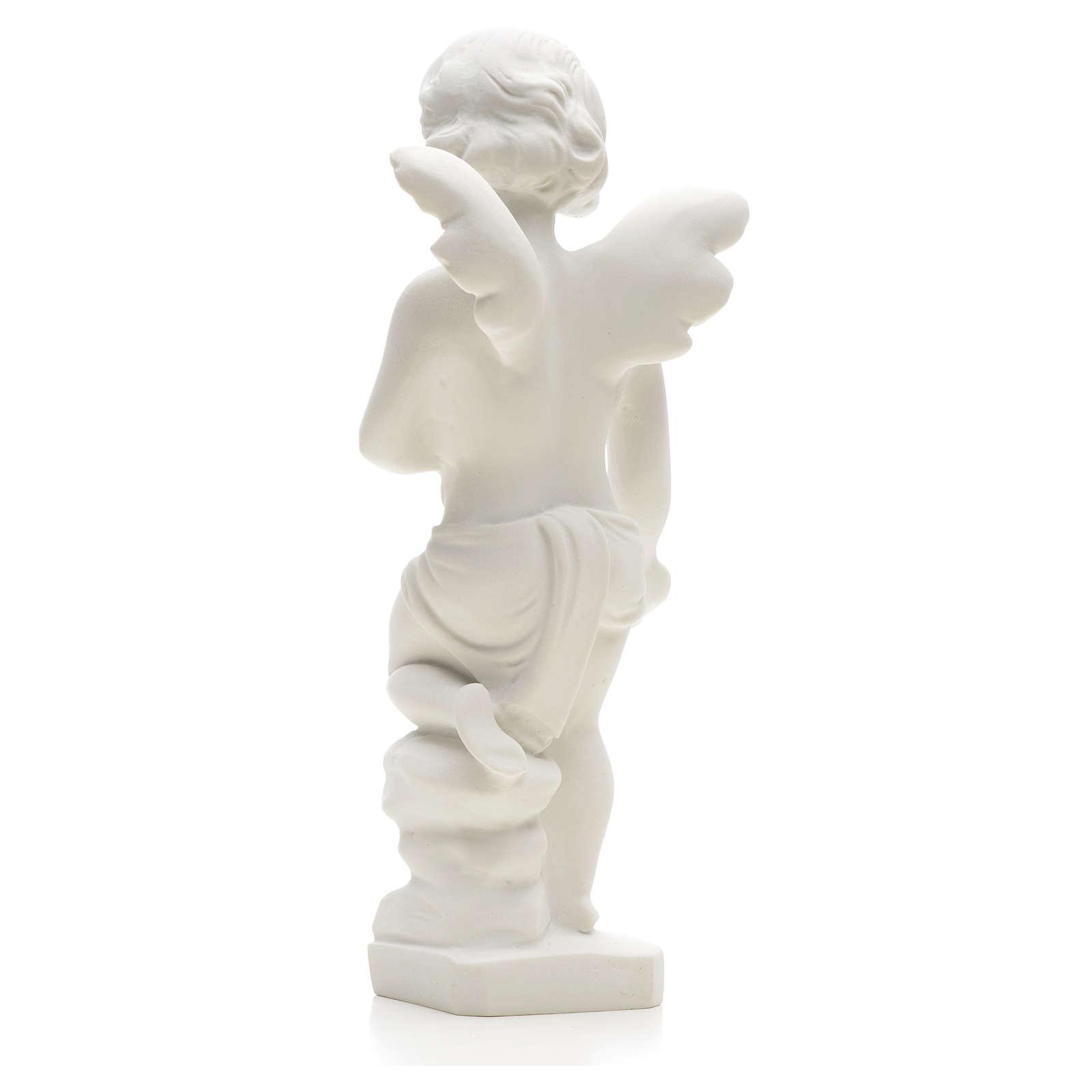 Angelo gettafiori 25 cm marmo 4