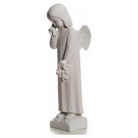 Crying Angel statue in reconstituted Marble, 50 cm s6