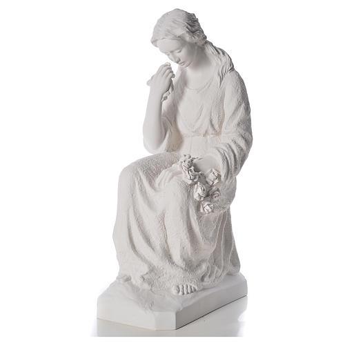 Mutter Dolorosa, Marmorstaub, 80 cm