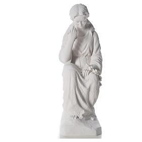 Addolorata 80 cm polvere di marmo s5