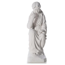 Statue in polvere di marmo di Carrara: Addolorata 80 cm polvere di marmo
