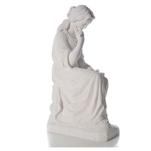 Addolorata 80 cm polvere di marmo 8
