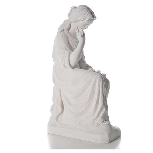 Addolorata 80 cm polvere di marmo 4