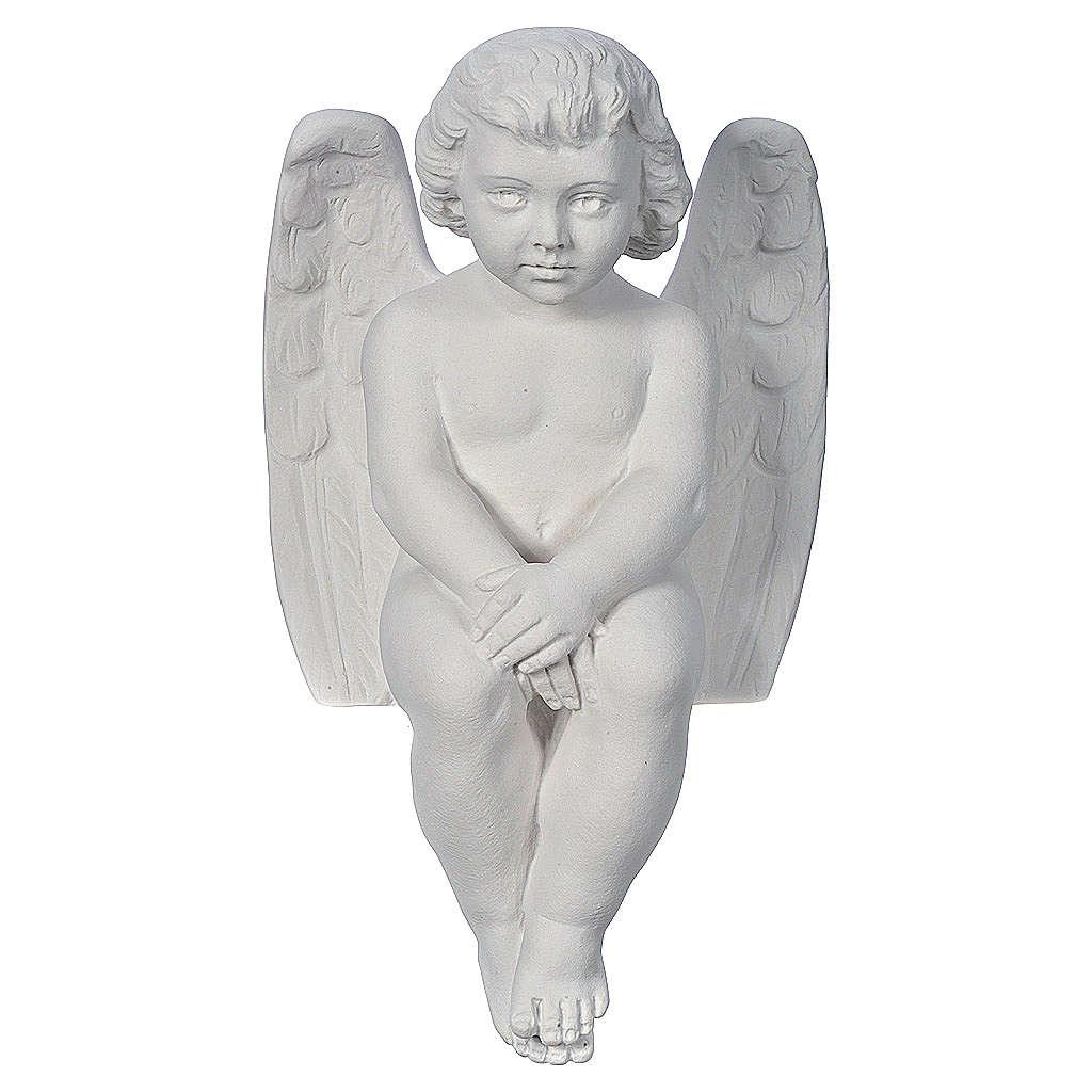 Angioletto cherubino 40 cm marmo 4