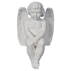 Angioletto cherubino 40 cm marmo s1