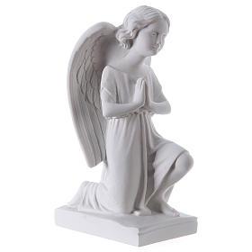 Angel, left, in Carrara marble dust 9,84in s4