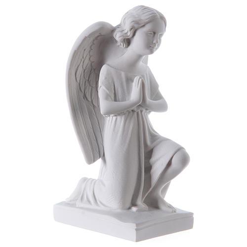 Angelot gauche 25 cm poudre de marbre 4