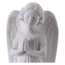 Angel, left, in Carrara marble dust 9,84in s2