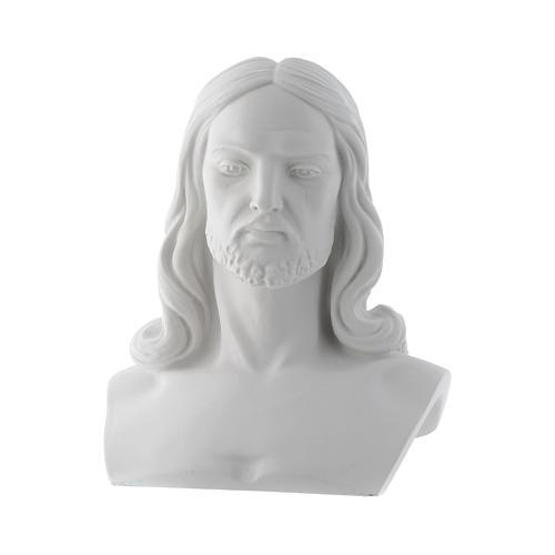 Busto di Cristo cm 33 polvere di marmo 1