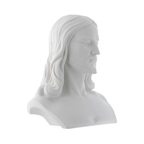 Busto di Cristo cm 33 polvere di marmo 2